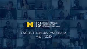 Commencement 2020 | U-M LSA English Language and Literature