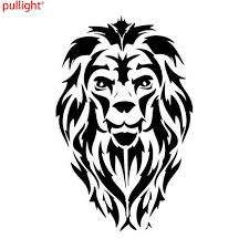 8 4 13cm Lion Head Decal Vinyl Car Sticker Decorative Car Styling Motorcycle And Car Decals Car Sticker Vinyl Car Stickerscar Decal Aliexpress