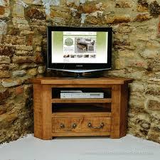 sherwood plank corner tv unit chunky