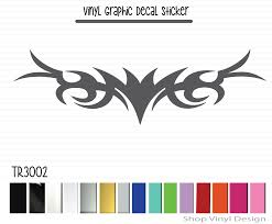 Tribal Flame Decal Hood Decal Vehicle Decal Flame Decal Vinyl Shop Vinyl Design