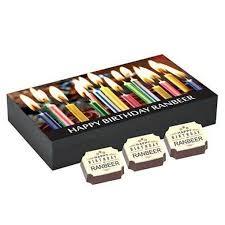 personalized happy bday 6 chocolate box
