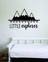 Little Explorer Wall Decal Sticker Bedroom Room Art Vinyl Home Decor I Boop Decals