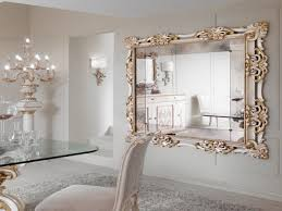 oversized wall mirror living large