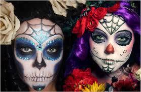 get a sugar skull makeup look in 10