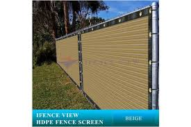 1 2mx7 3m Ifenceview 1 2mx1 5m To 1 2mx15m Beige Shade Cloth Fence Privacy Screen Fabric Mesh Net For Construction Site Yard Driveway Garden Railing Canopy Awning 160 Gsm Uv Protection 1 2mx7 3m Matt