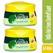 vatika hair cream dandruff guard 2x140ml