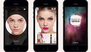 l oréal genious app how l oréal used