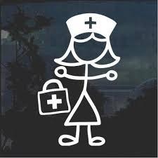 Nurse Decals Stickersquad