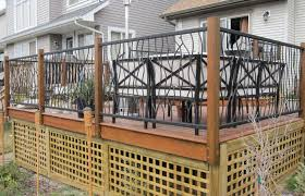 Best Deck Railing Height Ideas New Decoration Standard Building Code Home Elements And Style Pennsylvania Wood Designs Systems Detail Lowe S Crismatec Com