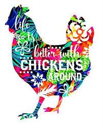 Chicken Vinyl Decal Sticker Chickens Life Is Better Window Laptop Tumbler 4 Ebay
