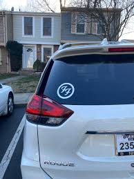 Foo Fighters Decal Sticker Foo Fighters Symbol Thriftysigns
