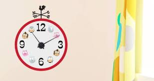Barn Friends Wall Decal Clock Dezign With A Z