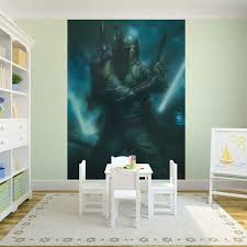 Star Wars Boba Fett Wall Paper Mural Buy At Europosters