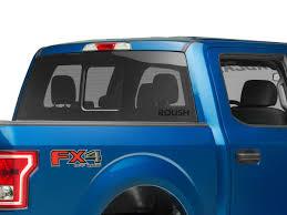 Roush F 150 Rear Window Decal Matte Black 404336 97 20 F 150