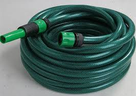 pvc garden hose pipe fiber braided