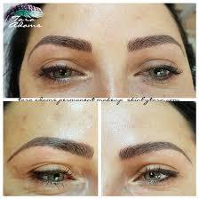 permanent makeup eyebrows in los