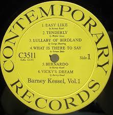 BARNEY KESSEL / Easy Like (Vol.1) (LP) / Contemporary   WAXPEND ...