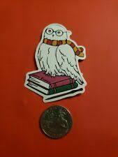 Owl Hedwig Permanent Vinyl Decal Sticker Harry Owl Potter Window Mirror Van Ebay