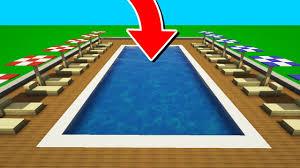piscine ultra rÉaliste dans minecraft