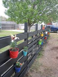 Pin By Kelley Stoll On My Next Big Project Wood Pallet Fence Backyard Fences Pallet Garden