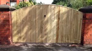 Wooden Driveway Gates Luxury Solid Garden Gates Made To Size Pressure Treated 6ft X 9ft Wide Amazon Co Uk Kitchen Home