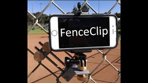 Attach A Cellphone To A Chain Link Fence Fenceclip Youtube