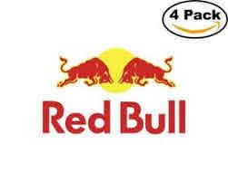 Redbull 4 Stickers 4x4 Inches Sticker Decal Ebay