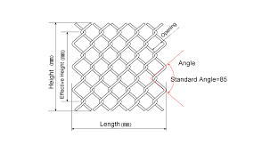 Diamond Wire Mesh Features And Application Chain Link Fence