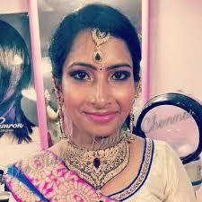 elegant and simple bridal makeup