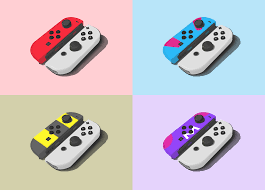 I drew and edited some pokéball themed joycons! : NintendoSwitch