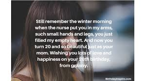 birthday messages and wishes for granddaughter