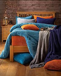 supersoft cuddle fleece duvet set j d
