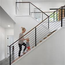 stainless steel rod railing design