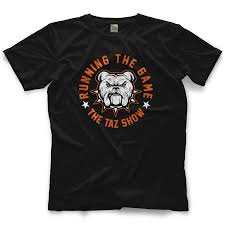 taz running the game t shirt