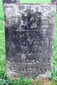 "Mary ""Polly"" McDonald Gall (1810-1844) - Find A Grave Memorial"