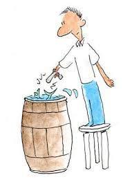 like shooting fish in a barrel | Idioms, Disney characters, Barrel
