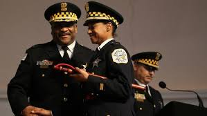 Wife of top cop Eddie Johnson files discrimination complaint ...