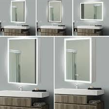 argos home rectangular bathroom mirror