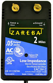 Amazon Com Zareba Eac2m Z 2 Mile Ac Low Impedance Fence Charger Discontinued By Manufacturer Agricultural Livestock Electric Fence Chargers Garden Outdoor
