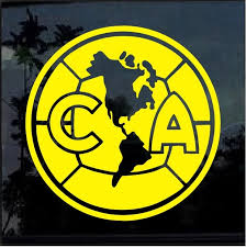 Ca Club America Soccer Window Decal Sticker Custom Sticker Shop