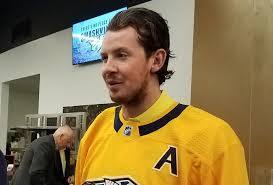 """EXCLUSIVE: Ryan Johansen credits his father, previous captains for  opportunity to wear an """"A""""   The Game Nashville"""