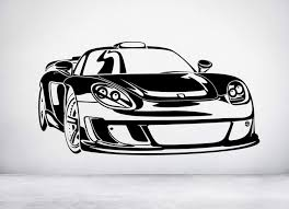 Amazon Com Wall Decals Porsche Carrera Gt Vinyl Wall Art Decal Sticker Any Color And Size Made In Us Vinyl Wall Art Vinyl Wall Art Decals Decal Wall Art
