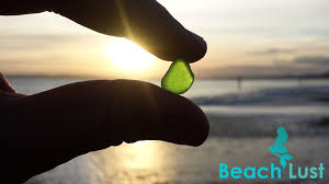 sea glass hunting at southbourne beach