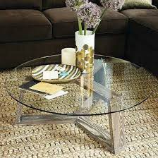 round glass coffee table round coffee
