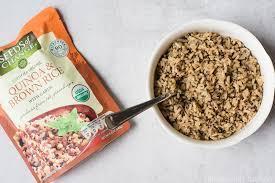vegan burrito bowl with quinoa brown