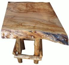 ambrosia maple live edge coffee table