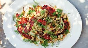 Roast Tomatoes, Fennel & Chickpeas with ...