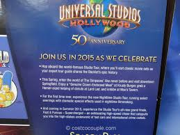 deals for universal studios hollywood