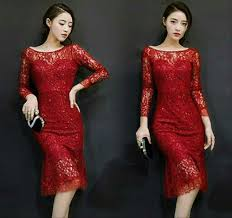 Tersedia dress brokat dengan aneka model. 82 Gaya Baju Brokat Natal Terbaik Modelbaju Id