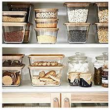 ikea rectangular plastic food container